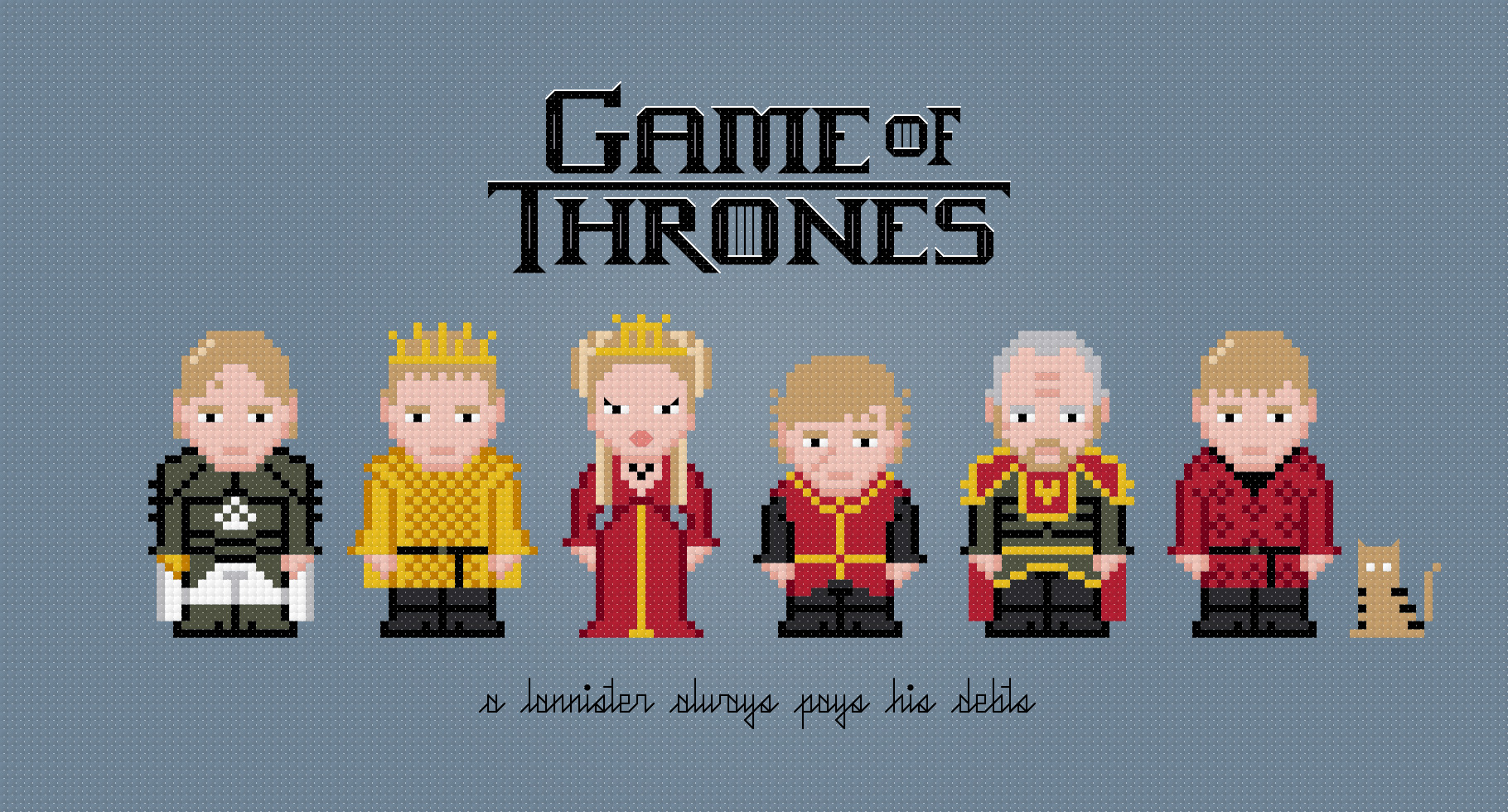 27+ Game Of Thrones Cross Stitch  Pics
